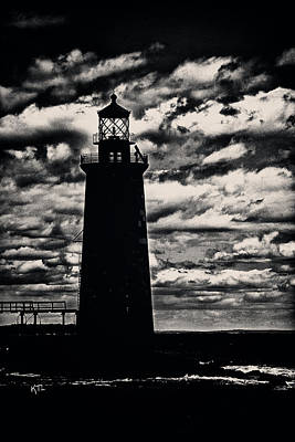 Photograph - Ram Island Ledge Light by Karol Livote