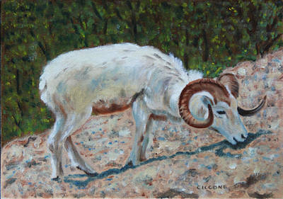 Painting - Ram by Jill Ciccone Pike