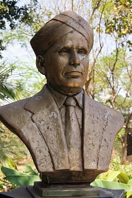 Honour Photograph - Raman Monument In Mumbai by Mark Williamson