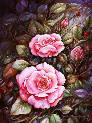 Rambling Rose Art Print