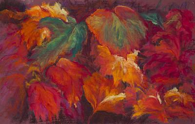 Pastel - Rambunctious Garden by Jocelyn Paine