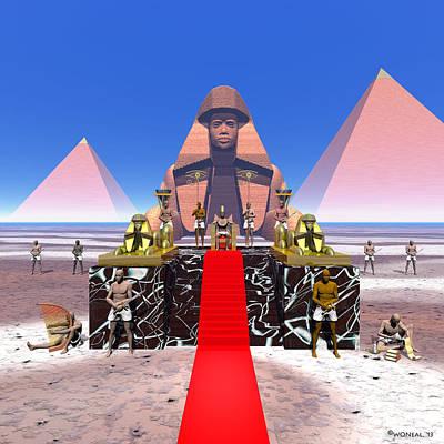 Marble Eyes Digital Art - Ramesses II by Walter Oliver Neal