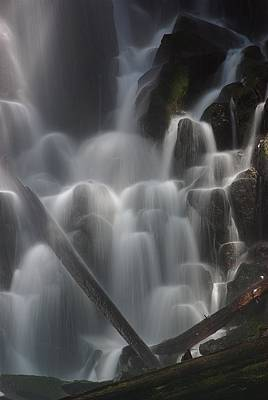 Photograph - Ramona Falls Detail 2 by Ken Dietz