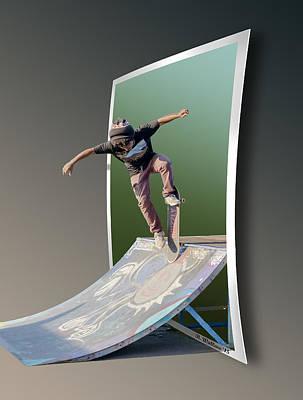 Ramp It Up - Oof Art Print
