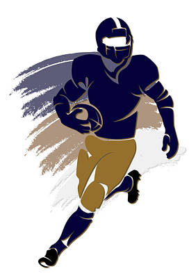 St Louis Photograph - Rams Shadow Player2 by Joe Hamilton