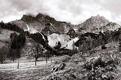 Photograph - Ramsau Am Dachstein by Menega Sabidussi