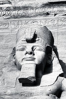 Photograph - Ramses The Great - Ozymandias by Mark E Tisdale