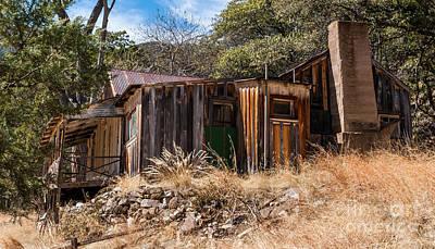 Ramsey Canyon Photograph - Ramsey Canyon Homestead 3 by Al Andersen