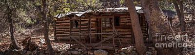 Ramsey Canyon Photograph - Ramsey Canyon Log Cabin 1 by Al Andersen