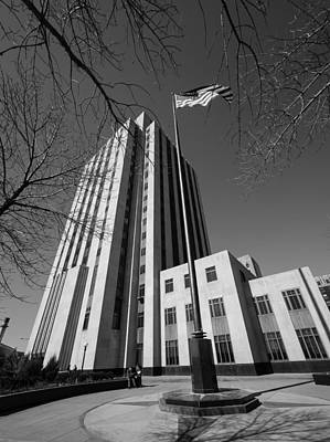 Photograph - Ramsey County Courthouse by Mike Evangelist