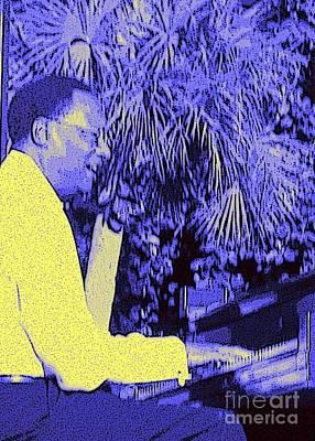 Shark Art - Ramsey Lewis Concert 2007 by Barbie Corbett-Newmin