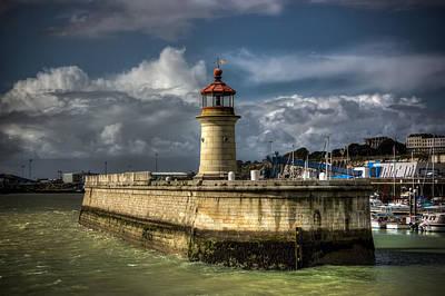 Landscape Photograph - Ramsgate Lighthouse by Ian Hufton