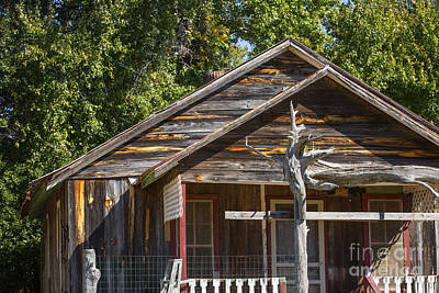 Photograph - Ranch House Very Old In Antique Color 3011.02 by M K Miller