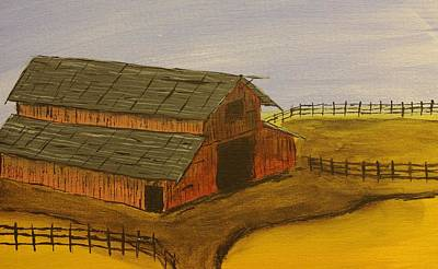 Ranch Art Print by Keith Nichols