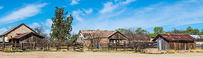 Art Print featuring the photograph Ranch Panorama by Beverly Parks