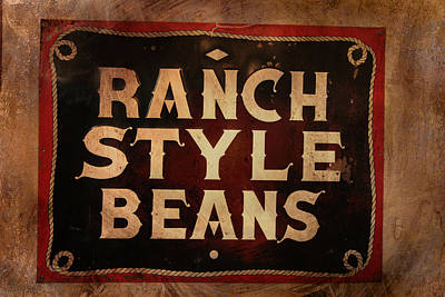 Chuck Wagon Photograph - Ranch Style Beans by Toni Hopper