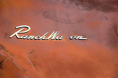 Photograph - Ranch Wa On by Bob Wall