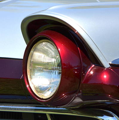 Photograph - Ranch Wagon Headlight by Dean Ferreira
