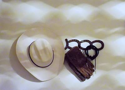 Working Cowboy Photograph - Rancher  by John Glass