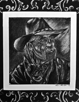Rancher Art Print by Sheena Pape