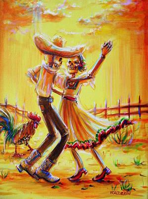 Mexican Cowboy Painting - Ranchera by Heather Calderon