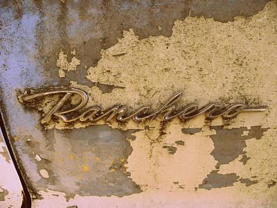 Photograph - Ranchero  by Kim Galluzzo Wozniak