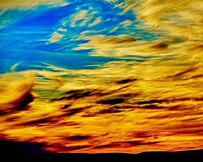 Photograph - Ranchito Sunset V by Charles Muhle