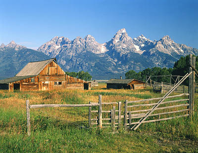 Photograph - 1m9392-ranchland And The Tetons by Ed  Cooper Photography