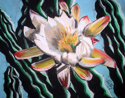 Painting - Rancho Cactus 2 by Michael Foltz