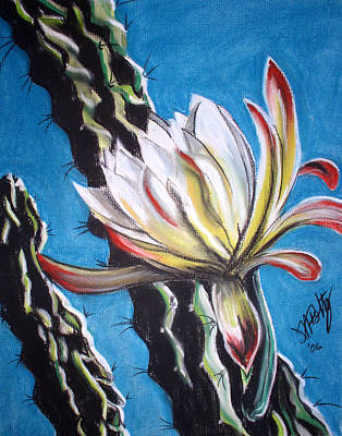 Painting - Rancho Cactus by Michael Foltz