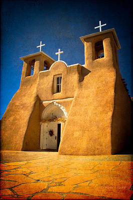 Photograph - Ranchos Church Xxx by Charles Muhle