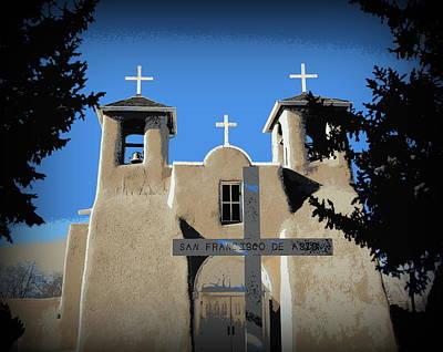Photograph - Ranchos De Taos by Sian Lindemann