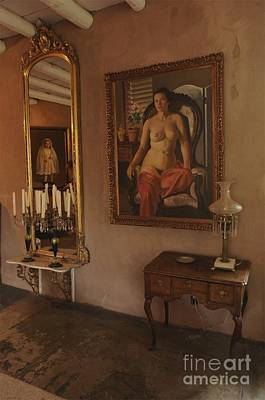 Photograph - Randall Davey's Interior by Sherry Davis