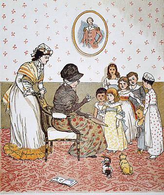 Randolph Caldecott, 1880 Art Print