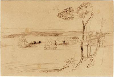 Randolph Caldecott, British 1846-1886, Trouville-sur-mer Art Print