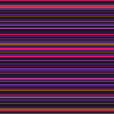 Digital Art - Random Stripes - Purple And Hot Pink by Val Arie