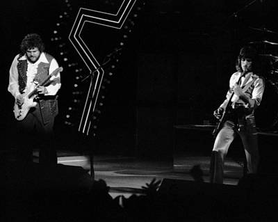 Photograph - Randy And Blair Rock Spokane In 1976 by Ben Upham