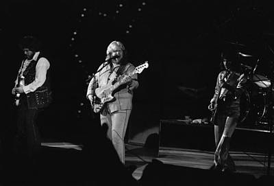 Photograph - Randy With C.f.  And Blair In Spokane September 1976 by Ben Upham