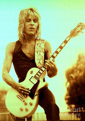 Randy Rhoads Day On The Green Unreleased One Art Print by Daniel Larsen