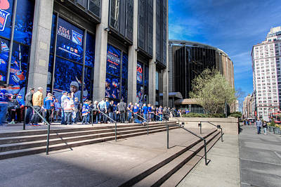 Photograph - Ranger Fans by David Hahn