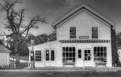 Blacksmith Photograph - Ranger Station In Glen Haven by Twenty Two North Photography
