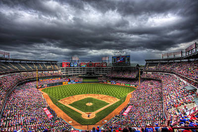 Nolan Ryan Photograph - Rangers Ballpark In Arlington by Shawn Everhart
