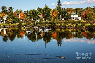 Rangley Lake Maine Art Print by Brenda Giasson