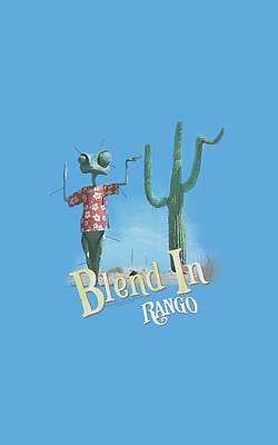 Johnny Depp Digital Art - Rango - Blend In by Brand A