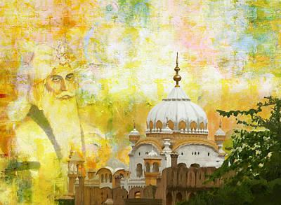 Ranjit Singh's Samadhi Art Print by Catf