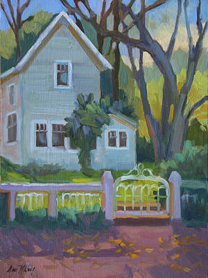 Painting - Rankin Ranch Homestead by Diane McClary