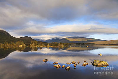 Rannoch Moor Photograph - Rannoch Moor Loch Na H-achlaise by Colin and Linda McKie