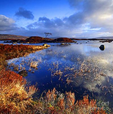 Photograph - Rannoch Moor Lochan by Craig B