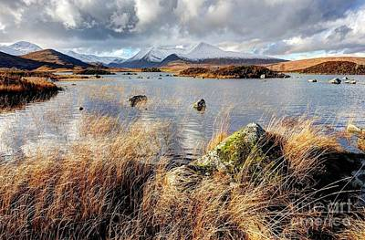 Photograph - Rannoch Moor Near Glencoe Scotland by John Kelly