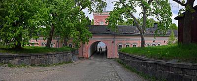 Helsinki Photograph - Rantakasarmi Gate At The Jetty by Panoramic Images